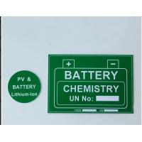 Wholesale Self Adhesive Custom Hard Plastic Signs Engraved Abs Pv Material from china suppliers