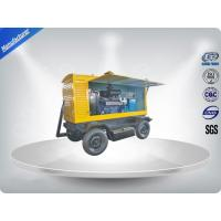 China Brushless Quiet Running Mobile Generators Trailer Mounted Class H Insulation 300Kva on sale