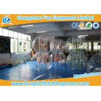 Transparent 1.5m Inflatable Hamster Footall Zorb Rolling Ball With Various Color Strings, Straps and Handles