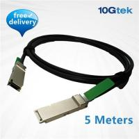 Wholesale QSFP+ QDR Direct-Attach Copper Cable 5m, Passive(CAB-QSFP-P5M) from china suppliers
