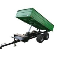 Wholesale 4wheel  ATV trailer rear tipping trailer 2ton from china suppliers