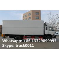 Wholesale 4x2 dongfeng 8 ton to 15 ton refrigerated van, hot sale best price Cummins 170hp dongfeng brand refrigerated truck from china suppliers
