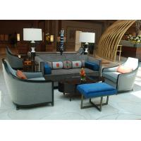 contemporary modern hotel lobby sofa fabric upholstered club chairs