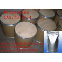 Wholesale High Purity Nutritional Supplement Melatonine CAS:73-31-4 Pharmaceutical Raw Material For Well Sleep from china suppliers