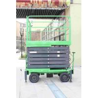 China Lifting Height 16m Hydraulic Mobile Scissor Lift with 300Kg Loading Weight for sale