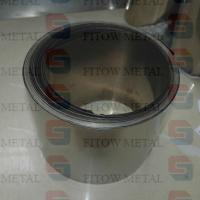 Wholesale purity>=99.95% ASTM B393 niobium foil/strip fitow metal from china suppliers