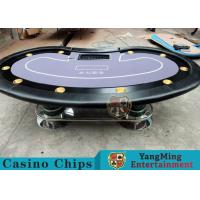 Wholesale Texas Holdem Casino 10 Person Poker Table For Gambling Games from china suppliers
