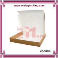 Wholesale Custom Dress Clothing Box/T-shirt corrugated brown paper box ME-CU013 from china suppliers