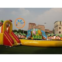 Wholesale Outdoor Inflatable Water Park With Slide Giant Dinosaurs Amazing Water Park from china suppliers