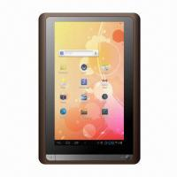 Wholesale 7-inch Dual-core Tablet PC with 1GB DDR3, front 0.3 MPixels from china suppliers
