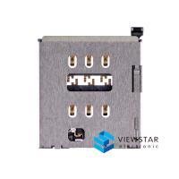 Buy cheap Internal Nano Iphone 6s Spare Parts Sim Card Reader Holder Slot Connector Part from Wholesalers