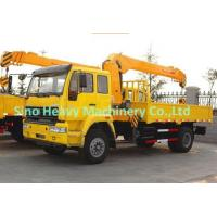Wholesale Construction Telescopic Boom Truck With Crane / 10 Ton Crane Truck SQ10SK3Q from china suppliers