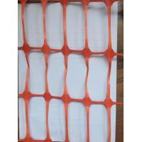 Wholesale Red HDPE Anti UV  Construction Safety Net Fence Netting 80gsm - 200gsm from china suppliers