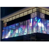 Wholesale 1000x500mm 1/16scan 32768 Flexible LED Curtain Display from china suppliers