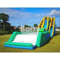 Wholesale Giant Inflatable Water Slide , Tallest Inflatable Roller Coaster Slide N Drop Kick from china suppliers