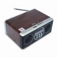 Quality U-disk FM Radio Mobile Portable Speaker with ≥80dB SNR and 150 to 18000Hz for sale