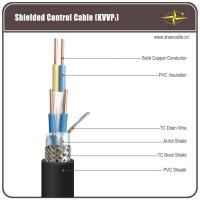 Wholesale Solid Copper Core PVC Insulation / Sheathing And TC Braided Shield Control Cable from china suppliers