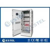 Wholesale Four Point Lock Outdoor Power Cabinet , Galvanized Steel Outdoor Electrical Enclosure from china suppliers