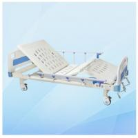 Wholesale Two Functions Adjustable Manual Hospital Bed MD-M16 with Cold Rolled Steel Frame from china suppliers