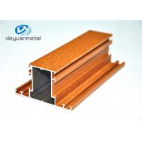 Wholesale Mill Finished / Wood Grain Extruded Aluminum Shapes Aluminium Extrusion Profile from china suppliers