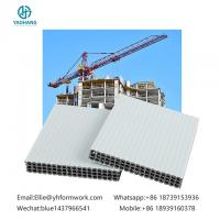 multi purpose use hollow plastic formwork|newly building concrete formwork|new type holow plastic formwork for sale