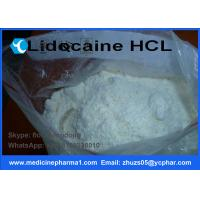 China Local Anesthetic APIS Lidocaine Hydrochloride for For Pain Reliever CAS 73-78-9 on sale