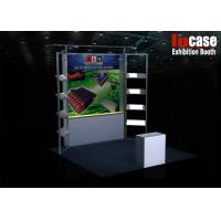 Buy cheap 3m x 3m Portable Trade Show Display Stand Modular Exhibits Booth from wholesalers