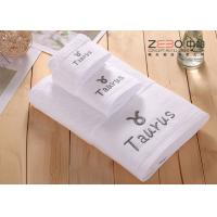 China Solid Color Large Bath Towels Hotel Collection For Women / Men Easy Wash on sale
