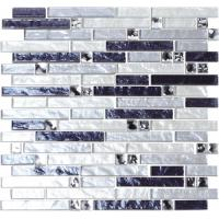 China Glitter crystal glass mosaic tile on sale