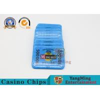 Wholesale Gambling RFID Casino Chips / ABS Poker Chips Set With Uv Mark 13.56Mhz from china suppliers