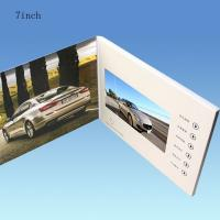 China 4.3 Inch Lcd Video Business Cards Hd Technology , Support Multi - Language on sale