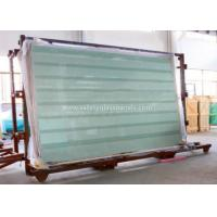 Clear / Tint Laminated Tempered Safety Glass , Solid tempered window glass