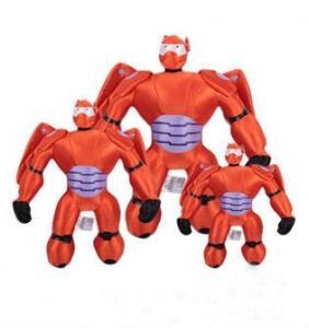 China Children Cartoon Plush Toys Big Hero 6 Baymax Mech Action Figure on sale