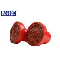 Wholesale Plastic Automatic Small Custom Rubber Stamps With PE Foam Pad , Small Ink Stamps from china suppliers