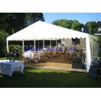 Wholesale Durable Wedding Marquee Tent Designed In Unique Way Customized 15m Or 20m Span from china suppliers