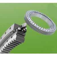 Wholesale High Load Capacity Excavator Slewing Ring Bearing With Dual-Row , HRC55 - HRC60 from china suppliers