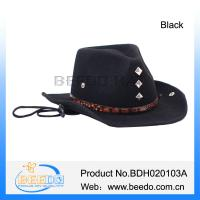 China China product wholesale mexican wool felt cowboy hats on sale