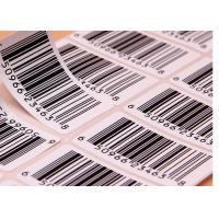 Wholesale Supermarket Barcode Stickers Roll / Thermal Print Sticker Labels Die Cut Shape from china suppliers