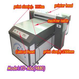 China YD-9880C uv wide format inkjet printer for glass on sale