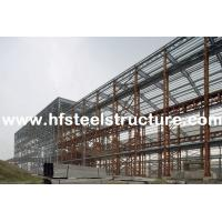 Custom Structural Industrial Steel Buildings For Workshop, Warehouse And Storage for sale
