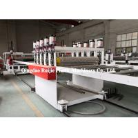 China Durable PP Hollow Sheet Extrusion Line Building Construction Formwork Application on sale