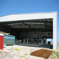 China Pre Engineered Steel Structure Building Warehouse for Aircraft Hangar on sale