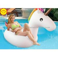 Wholesale Inflatable Pool Toys Unicorn Inflatable Water Floats For Swim Pool Rainbow Color from china suppliers