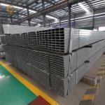 China ASTM steel profile ms square tube galvanized Furniture Rectangular Pipe Factory Construction Rectangular Pipe For Sale for sale