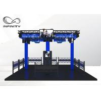 Wholesale Theme Park Virtual Reality Walking Platform / Multiplayer VR Shooting Games from china suppliers