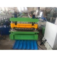 Wholesale 18 Stations IBR Sheet And Corrugated Double Roll Forming Machine With 7.5Kw Main Motor from china suppliers