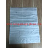 Wholesale 3 Sides Sealed Packaging Poly Bags Environmental Protection White Transparent Degradable Material from china suppliers