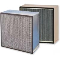 China Paper frame high efficiency air filter hepa filter for air cleaner on sale