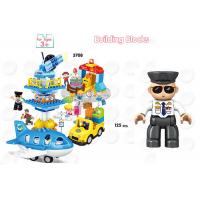 Wholesale 172Pcs City Vehicles Pretend Play DIY Building Blocks For Unisex Eco Friendly from china suppliers