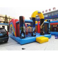 Wholesale Tag The Light Inflatable Interactive Arena Game / Inflatable Assault Obstacle Course from china suppliers